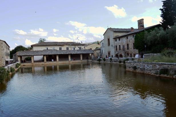 Piazza delle sorgenti, Bagni Vignoni.