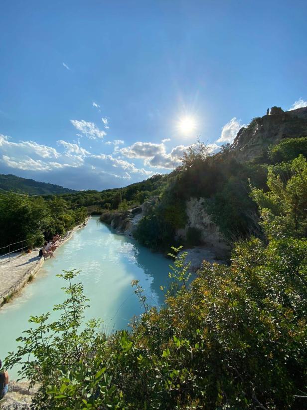 Parco naturale dei Mulini, Bagni Vignoni.