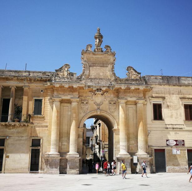 Porta Rudiae, Lecce.
