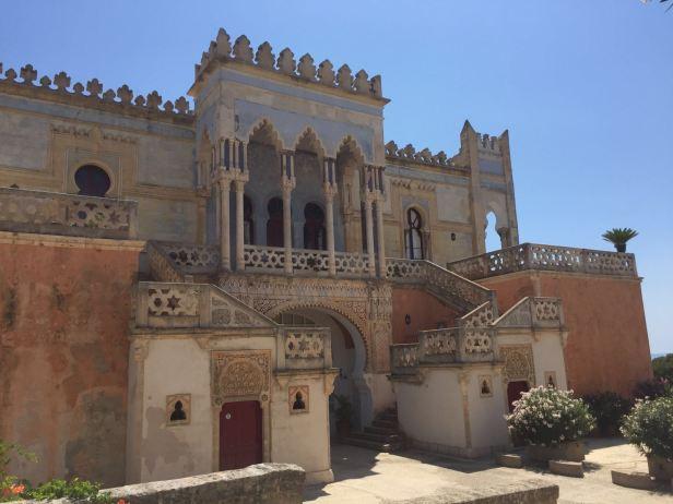 Villa Sticchi, Santa Cesarea Terme,