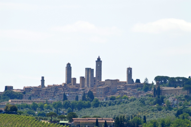 Veduta di San Gimignano.