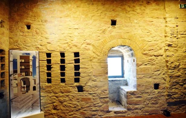 Parte interna della torre.